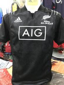 All Black Maori Rugby Jersey 2017