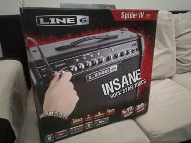 Line 6 Spider IV 30 watt guitar amplifier