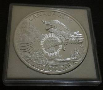 100 Dollar Canada 2014 Commemorative Silver Coin