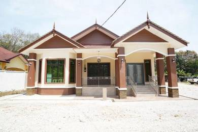 Bina Rumah Banglo Di Machang, Kelantan