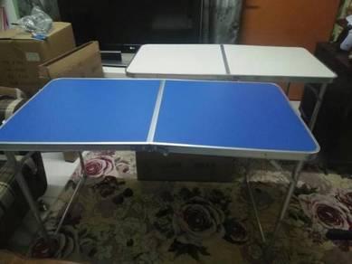 Picnic table 4x2 feet jimat ruang TAMPA KERUSI