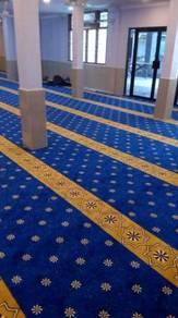 Karpet surau masjid kawasan taiping
