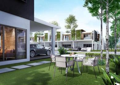 [New]Pre-Launching 2sty link terrace house Gated Guarded lake view