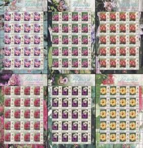 Mint Stamp Sheet Definitive Kelantan Malaysia 2018