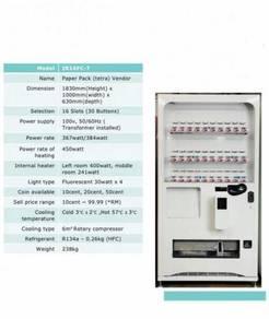 Tetra-pak vending machine kotak