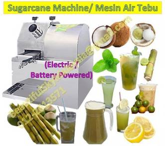 Electric Sugarcane Machine Mesin Air Tebu Elektrik