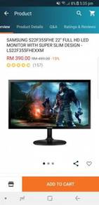 Samsung 22 inch monitor for sell