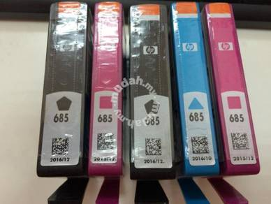 Hp Colour Ink 685 Qty 5