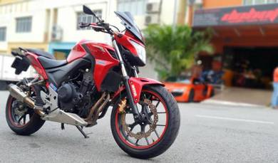 Honda CB 500F Candy Red 500 like new  cb500R AEON