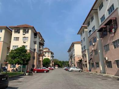 Siap parking lot😍Apartment Teratai, Taman Sutera Kajang