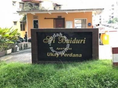 Sri Baiduri Apartment Ukay Perdana 900sf 100%LOAN Ampang