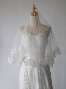Wedding lace veil (1.5 meter)