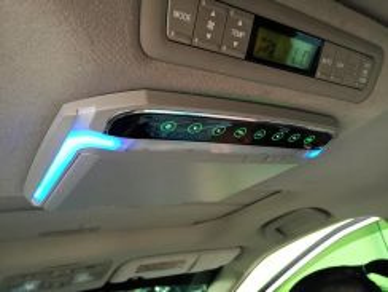 Toyota estima vellfire alphard led roof monitor