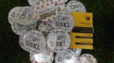 Button Badge Event Seringgit