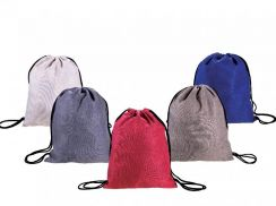Soft Jute Drawstring Bag