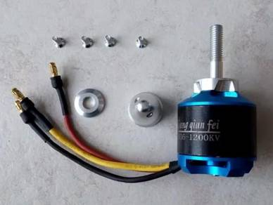 D3536 - 1200kv brushless out runner motor