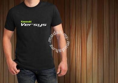 Tshirt Baju KAWASAKI VERSYS II TSV8 siap poslaju