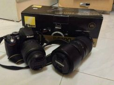 Nikon DSLR D5100 (FREE LENSES)