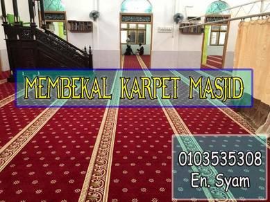 Carpet masjid bajet.lmk