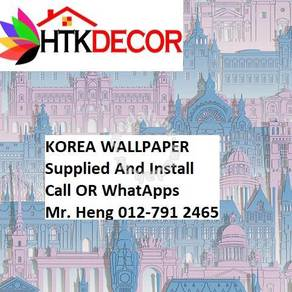 Install Wall paper for Your Office A28RCB2