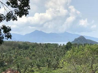 Beautiful hill land for sale in Langkawi