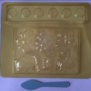 Plaster Fridge Magnet And Badge Moulding Kit