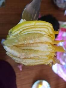 Durian crepe &oreo; crepe