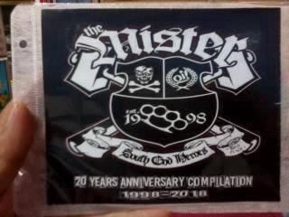 Cd the mister-20 years anniversary 1998-2018