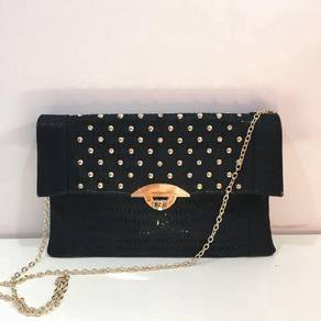 UNISA Perforated Facile Clutch