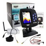 Lucky Wireless Boating Fish Finder 300m/980ft Oper