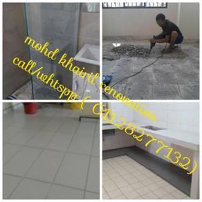 Cuci/pasang tangki air area kl sentral
