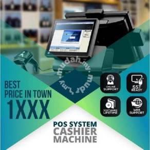 Pos system full set for retail n f&b PROMO