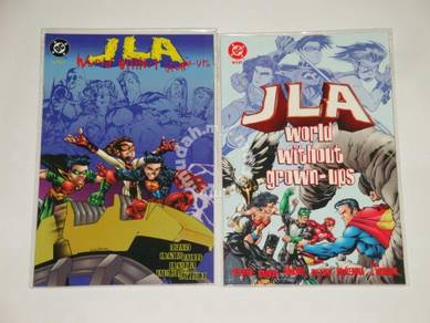 JLA. 1998. World Without Grown-Ups. complete set