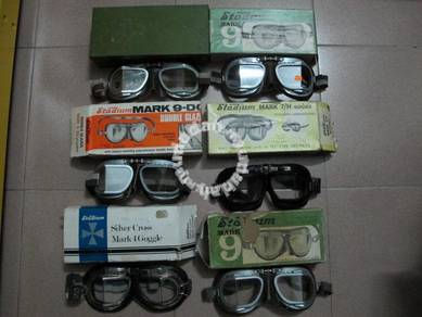 STADIUM Goggles LOT Boxed 1970s bsa norton triumph