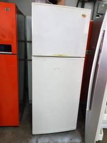 MEC fridge 2 doors Peti Sejuk Ais Refrigerator