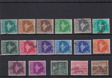 India old 1958-1963 used collection BK611