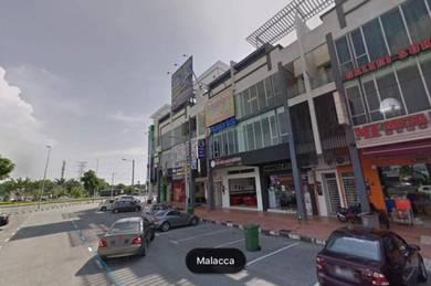 ShopLot Kompleks Perniagaan Musai Bistari Semabok ,Melaka