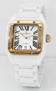 CARLO CARDINI Men Ceramic Watch 501GC-WHT-1