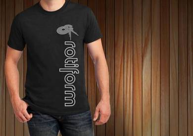 Baju T-Shirt ROTIFORM II NSQ102 siap poslaju