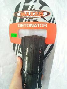 Clear Stock Maxxis Detonator Road Bike Tyre