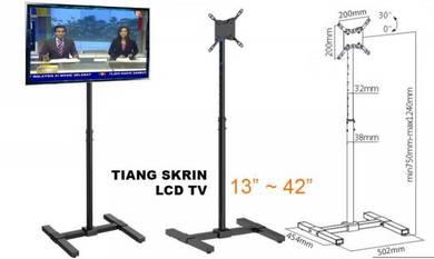 Tiang Paparan Skrin LCD / TV 13 ~ 42 inch