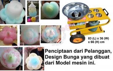 Mesin Gula Kapas Bunga Flower Cotton Candy Machine