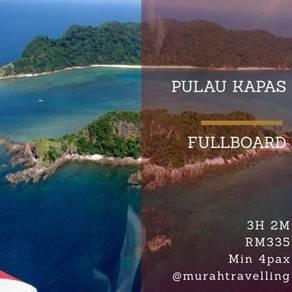 Pulau Kapas 3h 2m Fullboard