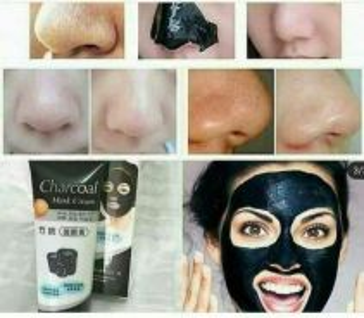 Charcoal mask blackhead
