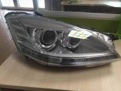 Mercedes W221 Convert Facelift Head Lamp Light AAA
