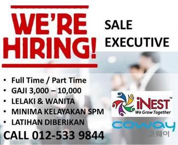Coway sale executive & sale manager ( damansara )