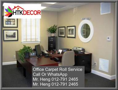 Office Carpet Roll Modern With Install FT48