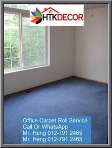 Modern Plain Design Carpet Roll With Install CV87