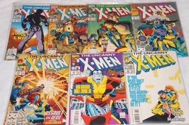 UNCANNY X-MEN. issue 297-303. Acolytes Return