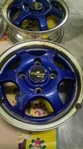 Original made in Japan enkei sparco racing 2piece